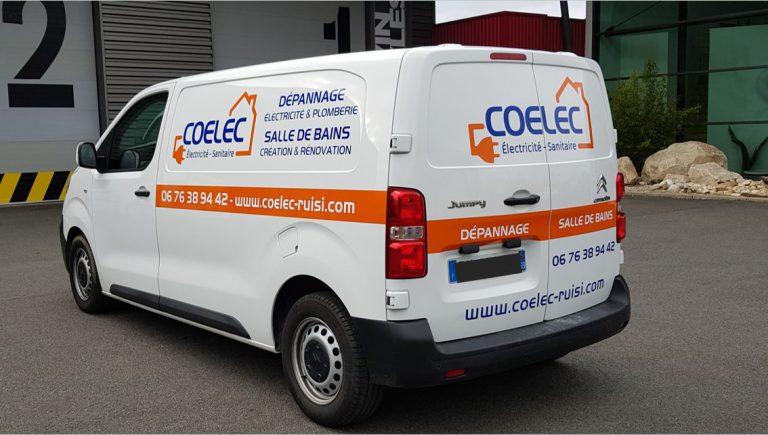DE BOUCHE A OREILLE - Création d'un concept original de décoration de véhicule pour COELEC.