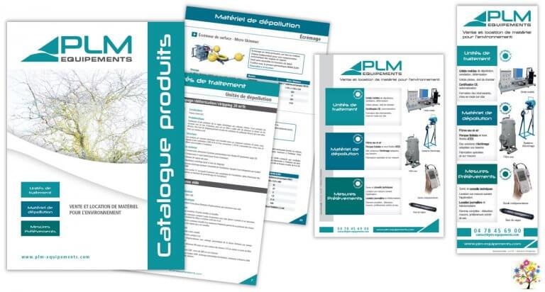 DE BOUCHE A OREILLE • Catalogue général 56 pages & annonces presse • Création originale & fabrication pour PLM EQUIPEMENTS.